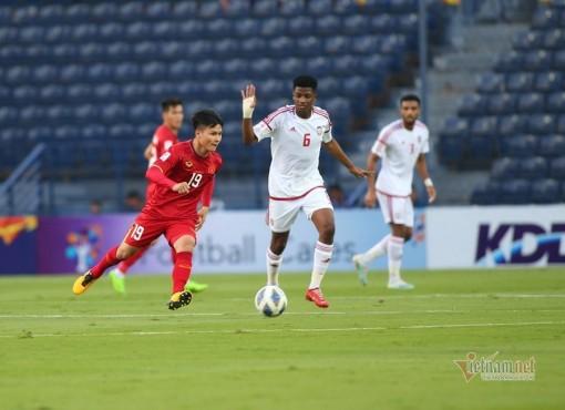 U23 Việt Nam hòa U23 UAE ngày ra quân