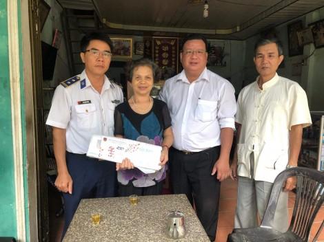 Bộ Tư lệnh Cảnh sát biển 4 chăm lo và thực hiện tốt công tác chính sách nhân dịp tết cổ truyền của dân tộc