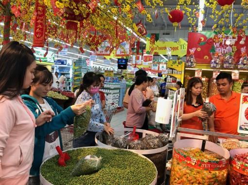 Các siêu thị đều kéo dài thời gian phục vụ Tết
