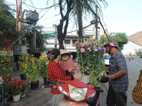 Hoa ra chợ Tết