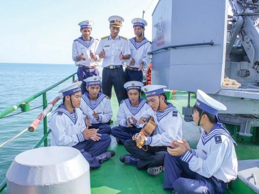 Vị Tết của lính biển đảo