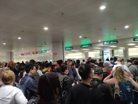 Passengers from China asked to fill out health declaration forms