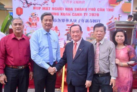 Người Hoa Cần Thơ họp mặt mừng Đảng, mừng Xuân