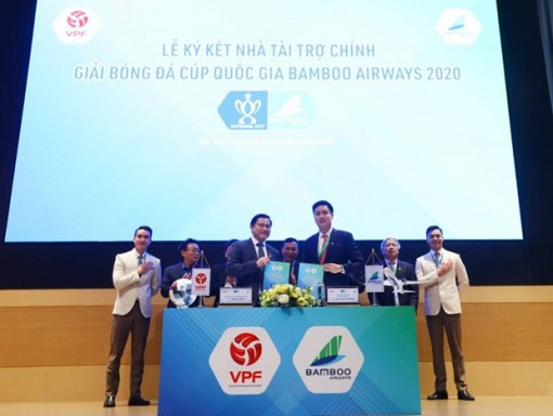 Bamboo Airways becomes sponsor of national football cup