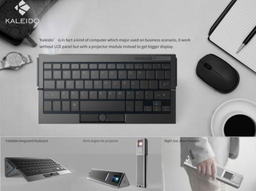 Máy tính tích hợp máy chiếu