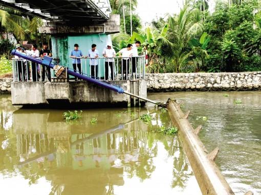 Hạn, mặn đang ảnh hưởng nhiều địa phương ĐBSCL