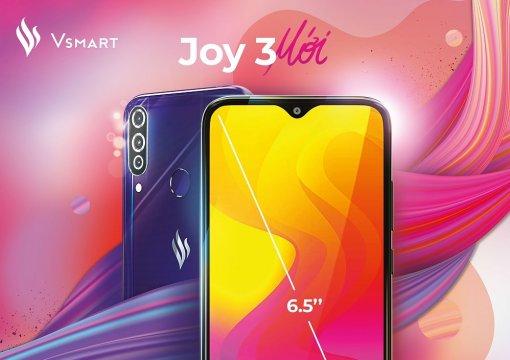 """Vingroup ra mắt Vsmart Joy 3 """"chất như mơ"""" trong phân khúc 2 triệu"""