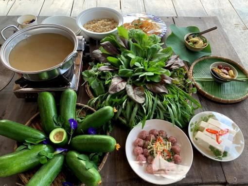 Lẩu nhiệt đới - món ngon từ nông sản