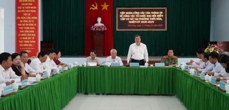 Chuẩn bị chu đáo để tổ chức đại hội đảng bộ thành công tốt đẹp
