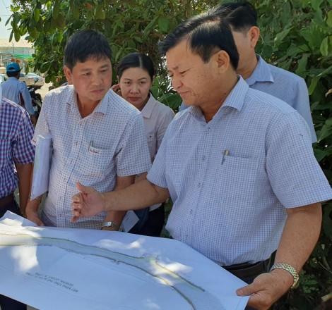 Lãnh đạo TP Cần Thơ kiểm tra dự án Kè sông Cần Thơ -  Ứng phó biến đổi khí hậu