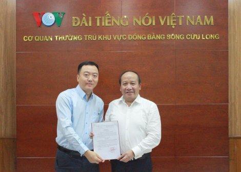 Nhà báo Trương Thanh Tùng được bổ nhiệm làm Phó Giám đốc Cơ quan thường trú Đài Tiếng nói Việt Nam khu vực ĐBSCL