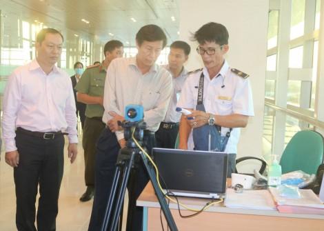 Giám sát, kiểm tra chặt chẽ chuyến bay Hàn Quốc-Cần Thơ