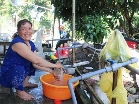 Cấp nước ổn định cho người dân nông thôn trong mùa khô hạn