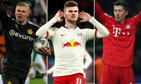 """Những """"họng pháo hạng nặng"""" tại Bundesliga"""