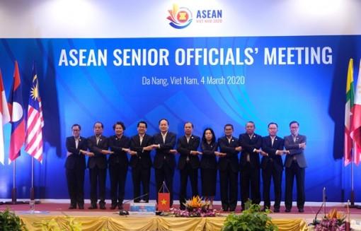 ASEAN senior officials gather in Da Nang