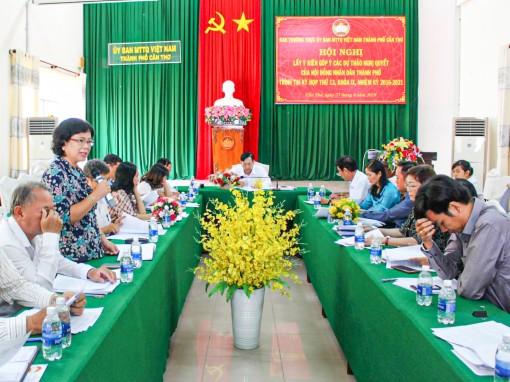 Nâng chất hoạt động của các  Hội đồng tư vấn Mặt trận