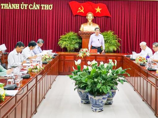 Tham mưu Thành ủy chỉ đạo chặt chẽ đại hội đảng bộ các cấp