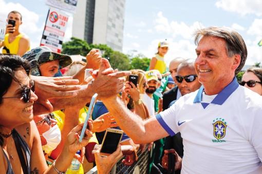 Tổng thống Brazil lại xem thường COVID-19