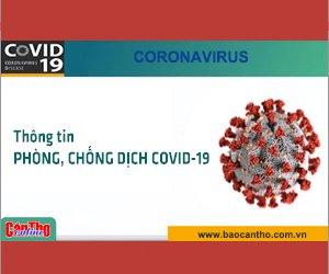 Sức khỏe hai bệnh nhân mắc COVID-19 điều trị tại Cần Thơ đều ổn định