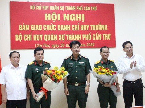 Thượng tá Chiêm Thống Nhất giữ chức vụ Chỉ huy trưởng Bộ Chỉ huy Quân sự thành phố
