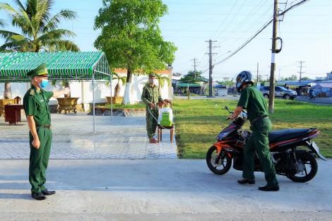 Bộ đội Biên phòng tỉnh Cà Mau cấm trại 100% quân số phòng chống dịch COVID-19