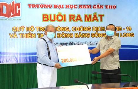 Ra mắt và tiếp nhận trên 1,1 tỉ đồng đóng góp Quỹ phòng, chống dịch COVID-19 và Thiên tai tại ĐBSCL