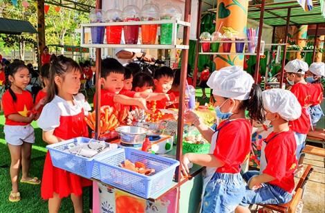 Nâng cao chất lượng giáo dục, chăm sóc trẻ mầm non