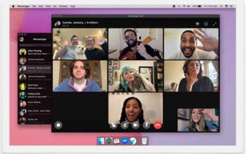 Messenger cho máy tính để bàn gọi video nhóm không giới hạn
