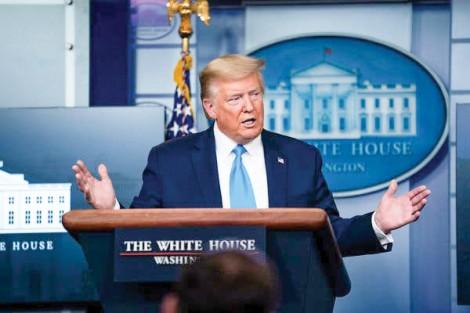 Ông Trump chỉ trích WHO ngả theo Trung Quốc
