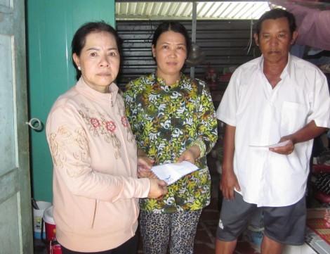 Hỗ trợ các hoàn cảnh khó khăn, neo đơn, bệnh tật