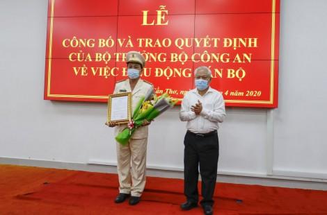 Đại tá Huỳnh Thới An được điều động   giữ chức vụ Phó Giám đốc Công an TP Cần Thơ
