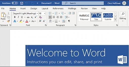 Cách nhận Microsoft Office miễn phí