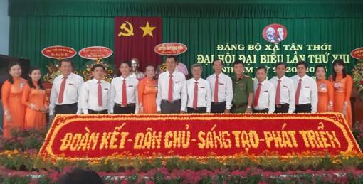 Các xã Tân Thới, Trường Xuân B và Chi bộ Phòng Kinh tế quận Cái Răng tổ chức đại hội