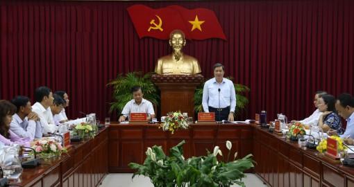 Đưa vào dự thảo báo cáo chính trị mục tiêu xây dựng huyện Thới Lai trở thành đô thị loại 4