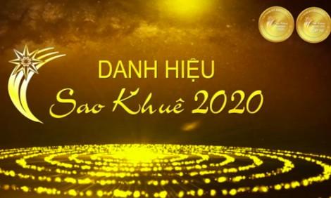 Công bố và trao danh hiệu Sao Khuê 2020