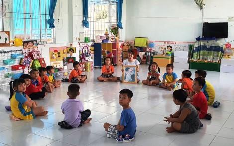 Trẻ lớp Lá ở Cần Thơ trở lại trường học