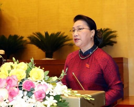 Bài phát biểu khai mạc Kỳ họp thứ 9 của Chủ tịch Quốc hội