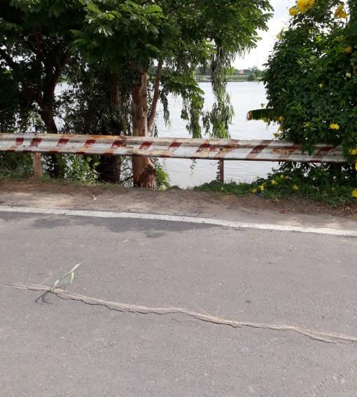 An Giang: Quốc lộ 91 (cũ) có nguy cơ tiếp tục sạt lở xuống Sông Hậu