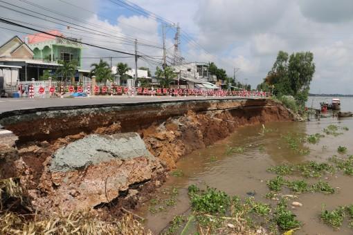 Ban bố tình huống khẩn cấp nguy cơ sạt lở nghiêm trọng trên Quốc lộ 91