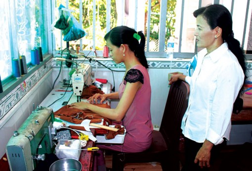 Nhiều mô hình thiết thực giúp chị em tăng thu nhập