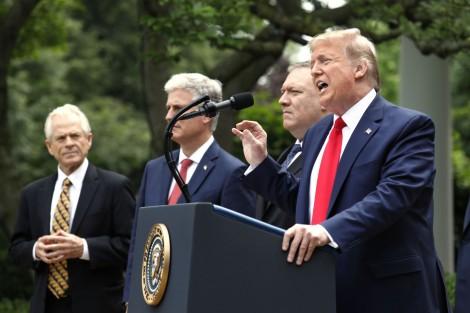 Mỹ hành động chưa từng có chống Trung Quốc