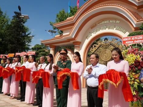Khánh thành Nhà tưởng niệm Chủ tịch Hồ Chí Minh tại Quân khu 9