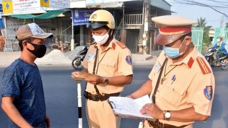 Cảnh sát giao thông xử phạt vi phạm hành chính 6.353 trường hợp