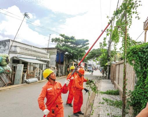 Thực hiện các biện pháp cung ứng điện an toàn, giảm thiểu thiệt hại thiên tai gây ra