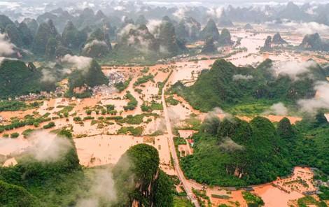 Mưa lũ nghiêm trọng ảnh hưởng đến gần 20 triệu người tại Trung Quốc