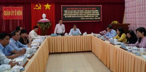 Đảng bộ quận Ô Môn sẵn sàng tổ chức Đại hội