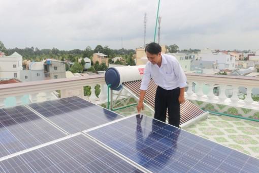 Thúc đẩy triển khai các giải pháp năng lượng xanh tại cộng đồng