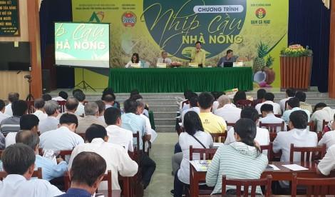 Chương trình Nhịp cầu nhà nông năm 2020 được tổ chức tại An Giang, Đồng Tháp và Long An