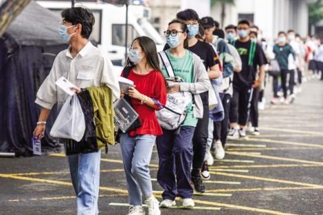 Gần 11 triệu học sinh Trung Quốc thi đại học