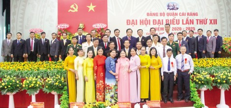 Bế mạc Đại hội Đại biểu Đảng bộ quận Cái Răng